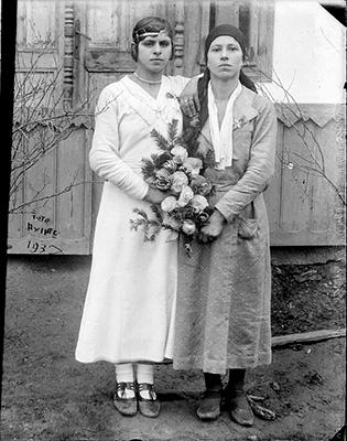 2 imagini: portrete 1937
